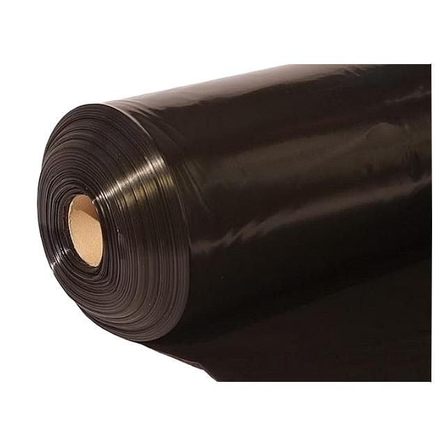 пленка п/э черная 200мкм 1,5м рукав 10м 1с