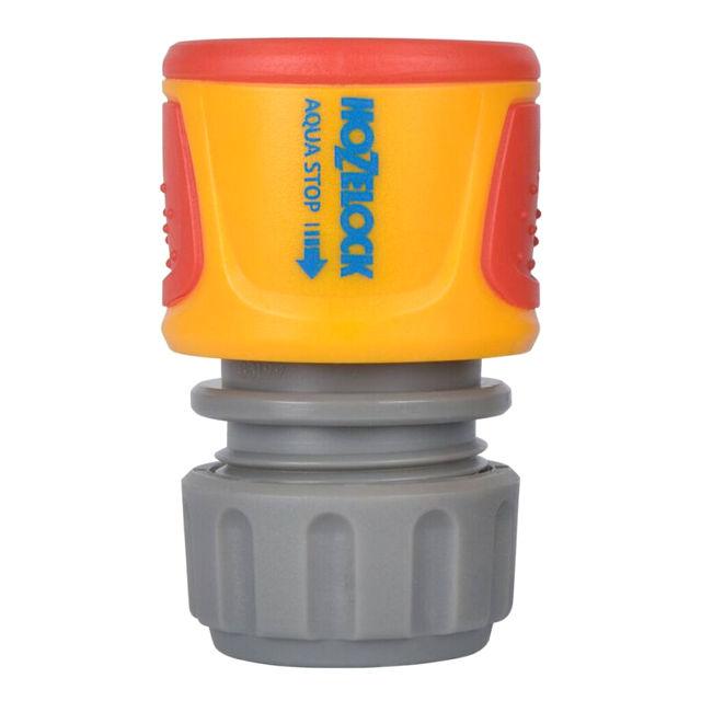 коннектор HOZELOCK Classic 1/2 с аквастопом пластик коннектор hozelock с аквастопом 1 2