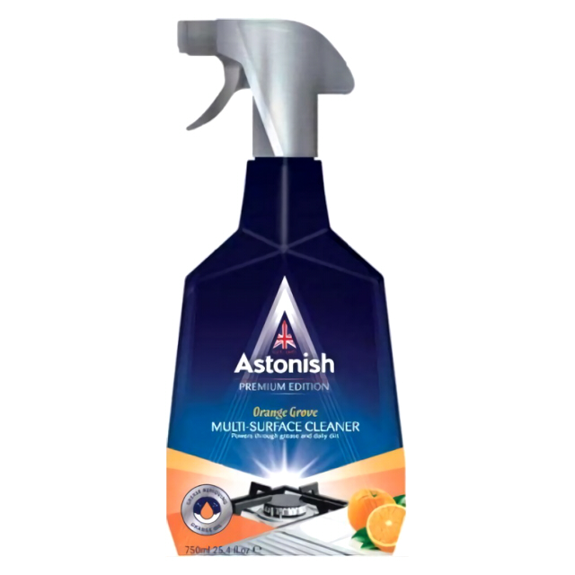 цена на средство чистящее ASTONISH Premium Edition Апельс. сад 750мл спрей универс.