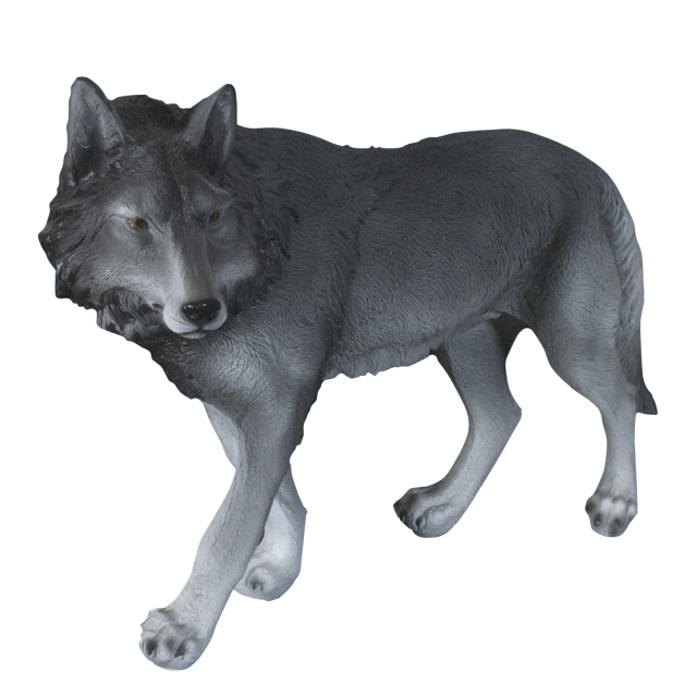 фигура садовая Волк 44см фигура садовая селезень 16 5х11 8х26см полистоун