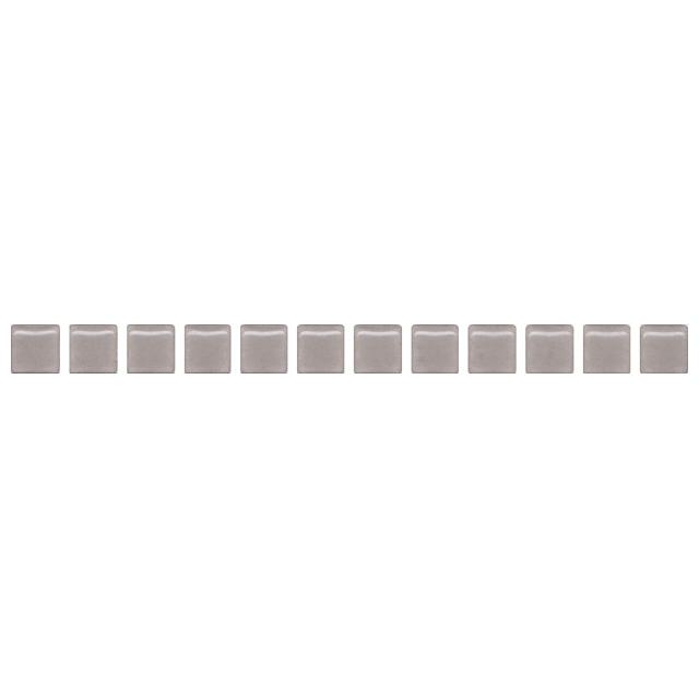 бордюр настенный 20х1,4 БИСЕР, серый матовый бордюр kerama marazzi терраса a1863 tu0031 42x8