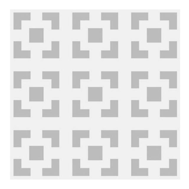 панель ХДФ Ню Форм Дамаско 695х1030х3 Белая