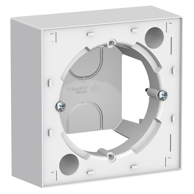 коробка подъемная, 1 пост, Atlas Design, белый