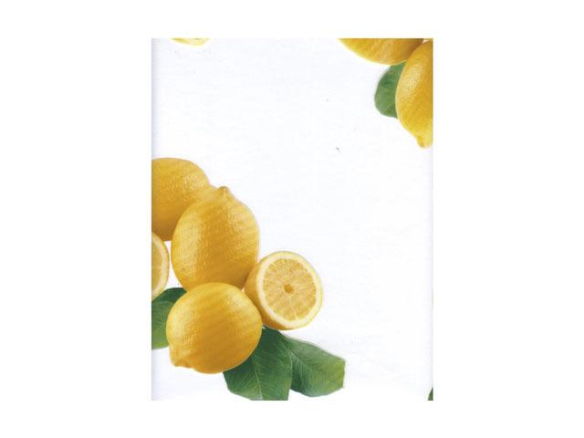 клеенка Transparent Star прозрачная Лимоны шир.140см клеенка photoprint десерт шир 140см