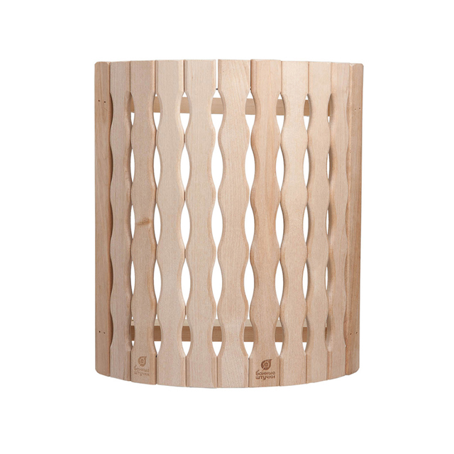 абажур для светильника угловой Косичка, 27х10,5х30,5 см, липа абажур д светильника угловой косичка 27х10 5х30 5см липа