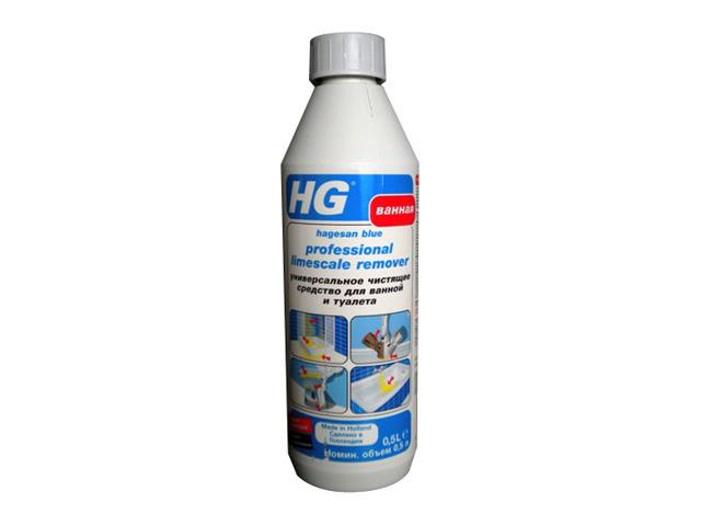 средство чистящее HG для ванной и туалета жидкость 500мл