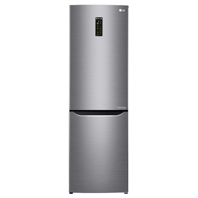 холодильник LG GA-B429SLUZ Wi-Fi 2кам.223+79л 190х60х65см графит холодильник lg ga b409umda 2кам 217 87л 190х60х65см сереб