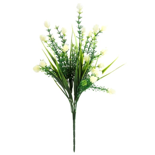 растение искусственное Клевер луговой 33,7см цены