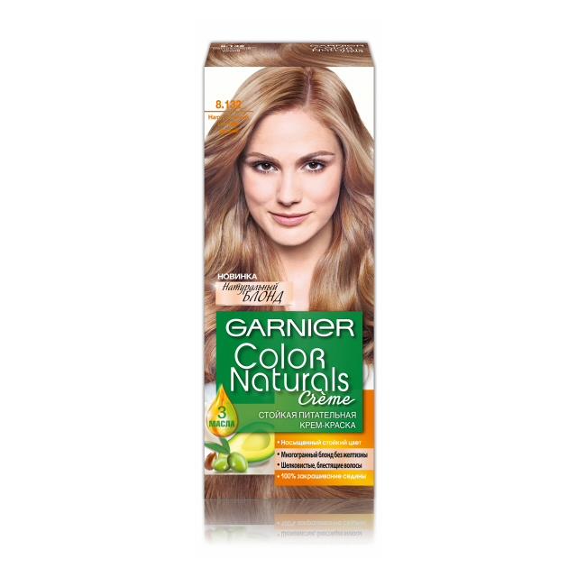 краска д/волос GARNIER Color Naturals 8.132 Натур. светло-русый
