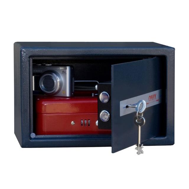 сейф офисный ONIX LS-20K 200x310x200мм ключ замок сейф onix ls 30kт с трейзером