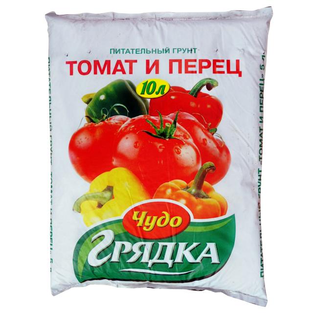 Фото - почвогрунт для томатов и перца СЕЛИГЕР-АГРО Чудо грядка 10л почвогрунт для томатов перца и баклажанов богатырь 20л