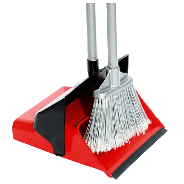 набор для уборки MR BRUSH совок+сметка пластик