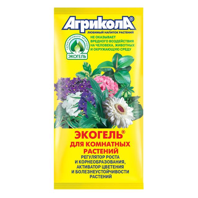 антистрессовый препарат Экогель для комнатных растений пак 2