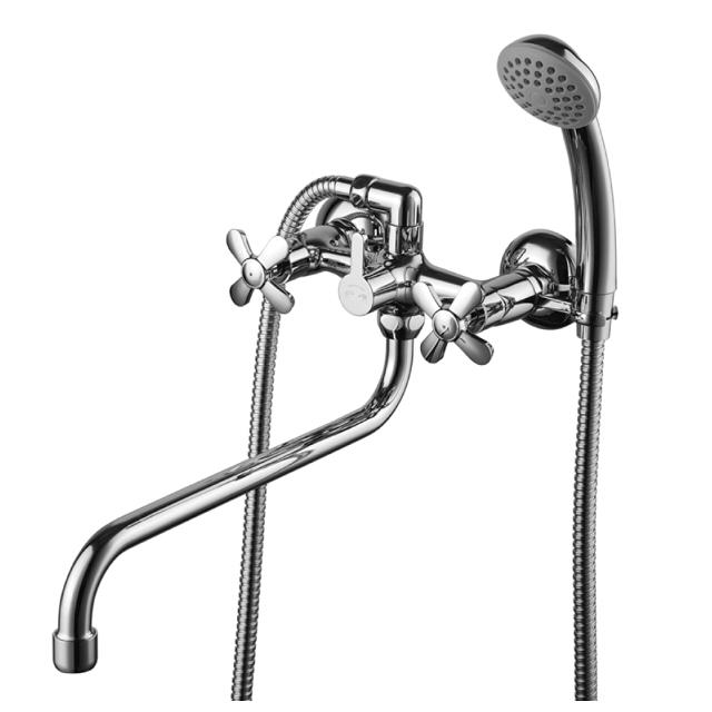 смеситель для ванны с душем LEMARK Partner двухвентильный