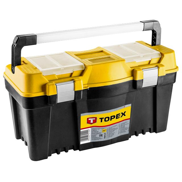 ящик для инструментов TOPEX 22, 550x270x270 мм