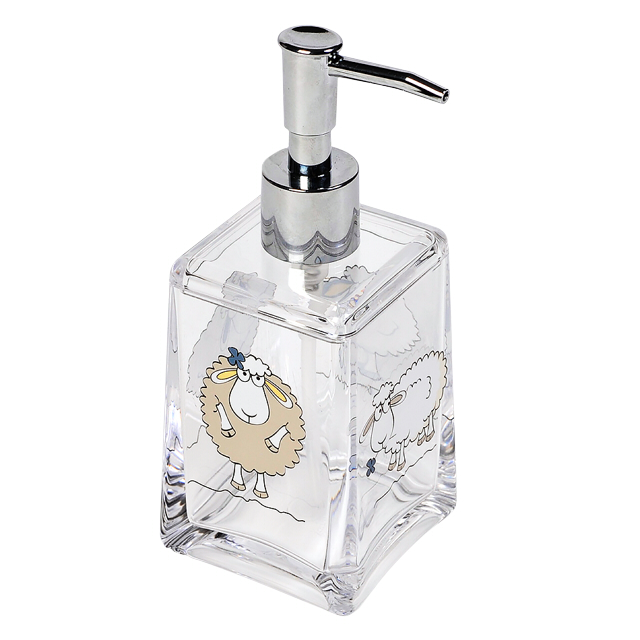 дозатор для жидкого мыла ACRYL FUNNY SHEEP , настольный, акрил