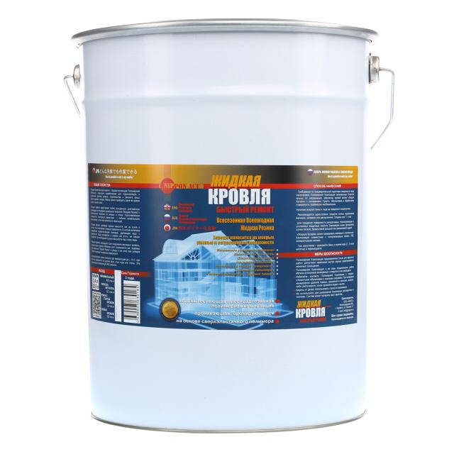 мастика NIP Ponace Жидкая кровля полимерная водовытесняющая 20л, арт.n30214