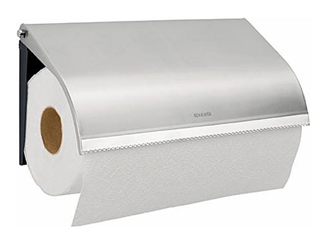 держатель для бумажных полотенец BRABANTIA, навесной, матовая сталь