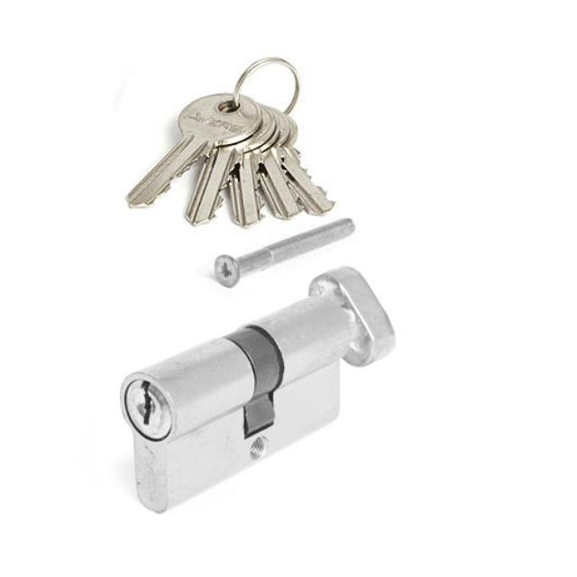 цилиндр ключевой 60мм 30+30 вертушка никель цилиндр ключевой dorma 60мм 30 30 никель