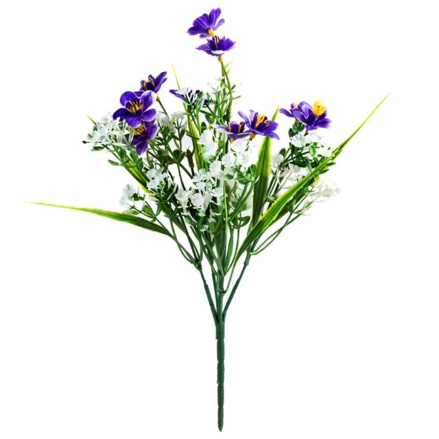 растение искусственное букет Цветы полевые 33см