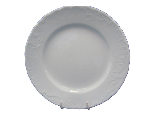 тарелка обеденная CMIELOW Рококо 25см, фарфор тарелка рококо платина 25см обеден фарфор