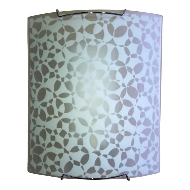 светильник настенно-потолочный БАЛТИЙСКИЙ СТИЛЬ 1х60Вт, Е27, металл белый светильник настенно потолочный балтийский стиль malin 1х60вт е27 белый матовый