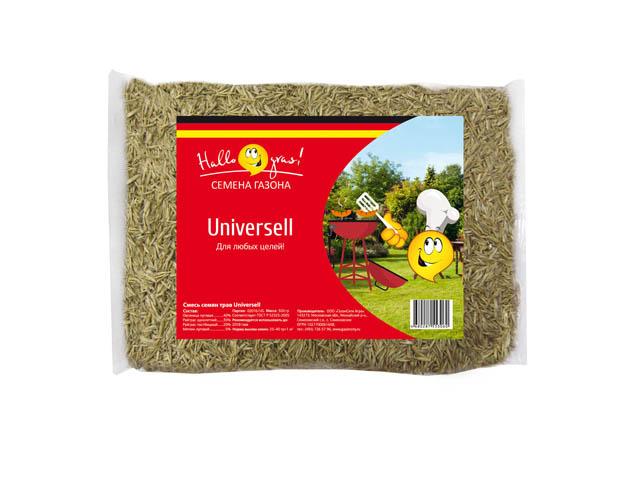 семена газонной травы UNIVERSELL GRAS 0,3кг