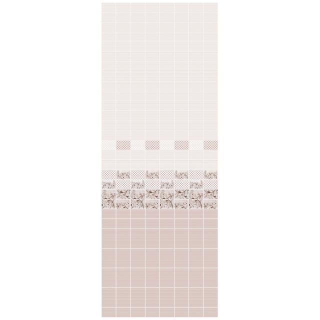 панель ПВХ Плетенка кофейная 250х2700х8мм цифровая печать