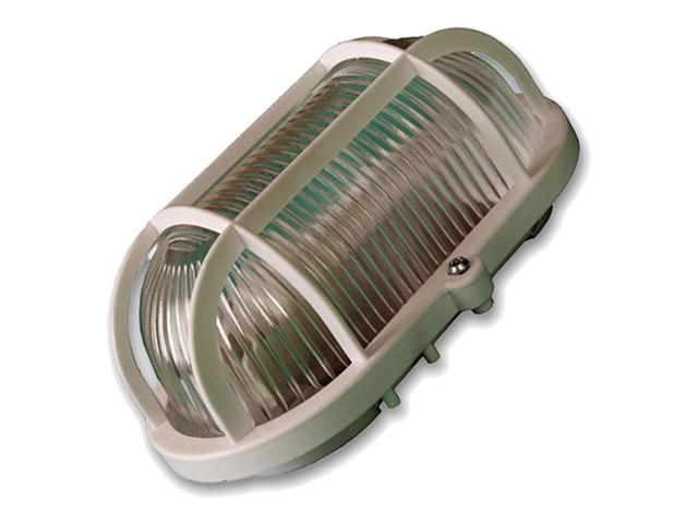 светильник настенно-потолочный ПАН ЭЛЕКТРИК овал с решеткой IP54 светильник настенно потолочный пан электрик нпб ip54 овал ip54 28789 6