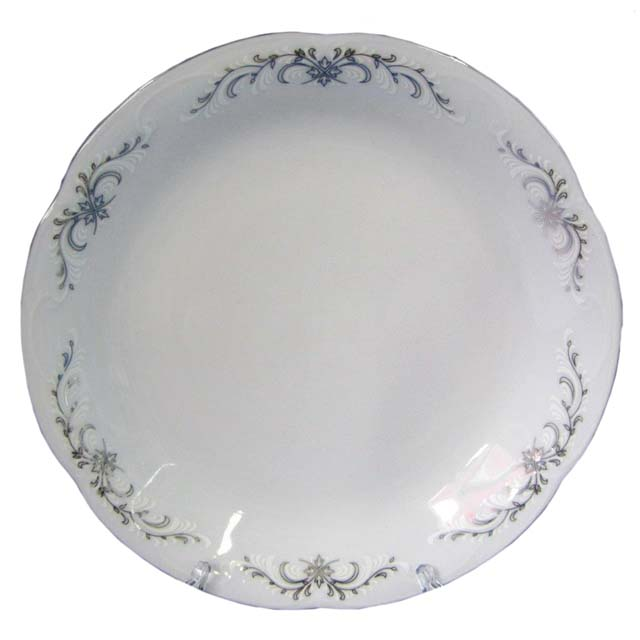 салатник CMIELOW Камелия Серый орнамент 23см 2,5л фарфор