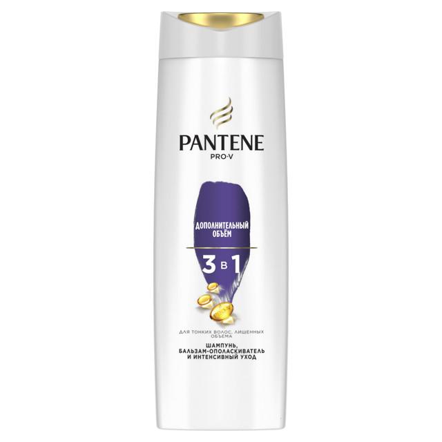 шампунь PANTENE Дополнительный объем 3в1 360мл