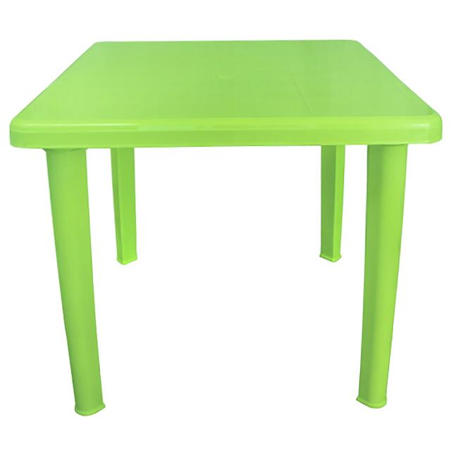 цена стол пластиковый квадратный 80х80х71см салатовый онлайн в 2017 году