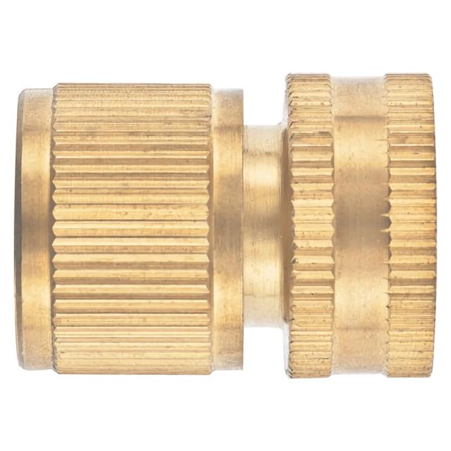 Фото - соединитель быстросъемный для шланга Palisad латунь 1/2 внутренняя резьба аквастоп соединитель для полива palisad латунный быстросъемный аквастоп 66265