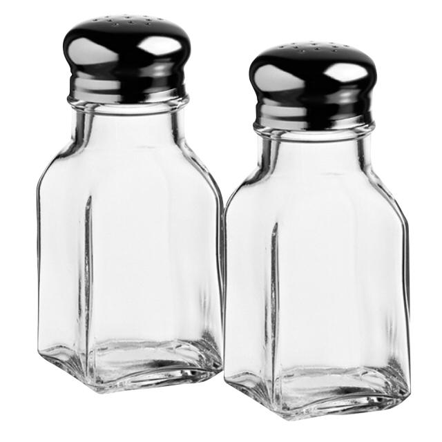набор для специй PASABAHCE Basic 2 предмета без подставки стекло