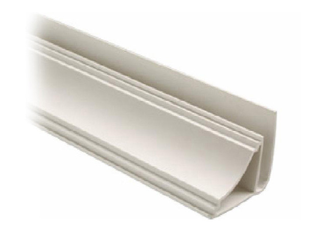 профиль для панелей ПВХ, плинтус потолочный, 3 м, белый профиль примыкающий оконный пвх 6 мм белый 2 4 м