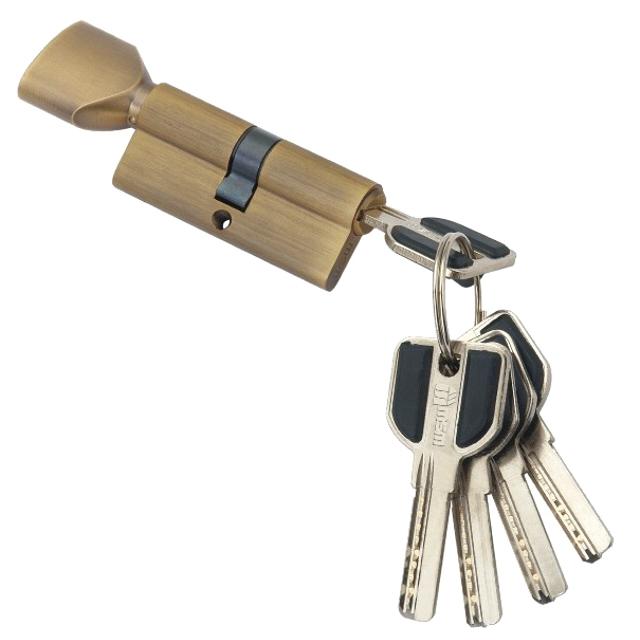 цилиндр ключевой MSM 70мм 35+35 коричневый вертушка цилиндр ключевой dorma 70мм 35 35 никель вертушка