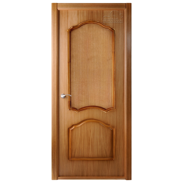 полотно дверное Каролина L ПГ 2х0,7м шпон дуб