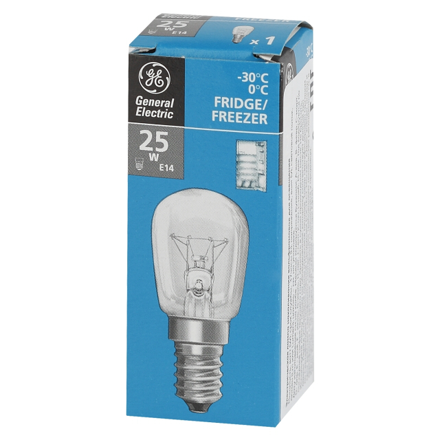 лампа General Electric Pygmy 84807 25Вт E14 230В CL для холо