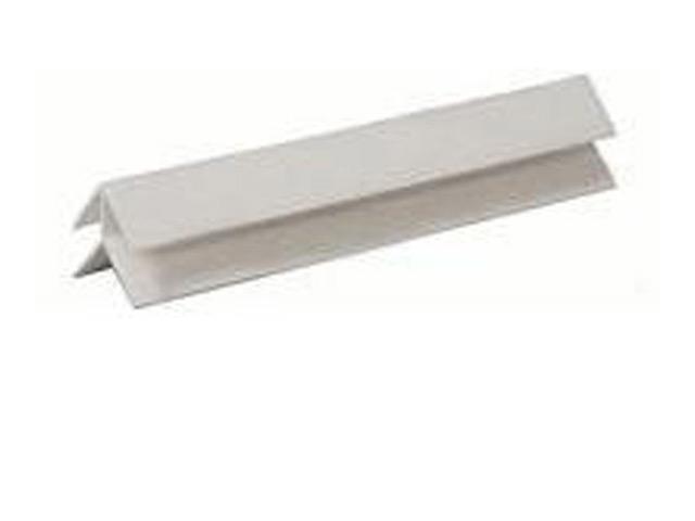 профиль для панелей ПВХ, угол наружный, 3 м, белый профиль примыкающий оконный пвх 6 мм белый 2 4 м