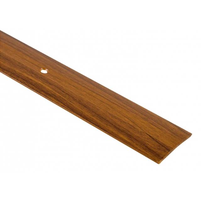 порог алюм. стык 37мм 0,9м декор. дуб лионский А5
