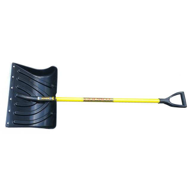 лопата для снега Спринт Домбай 50х137см стальные планка и черенок