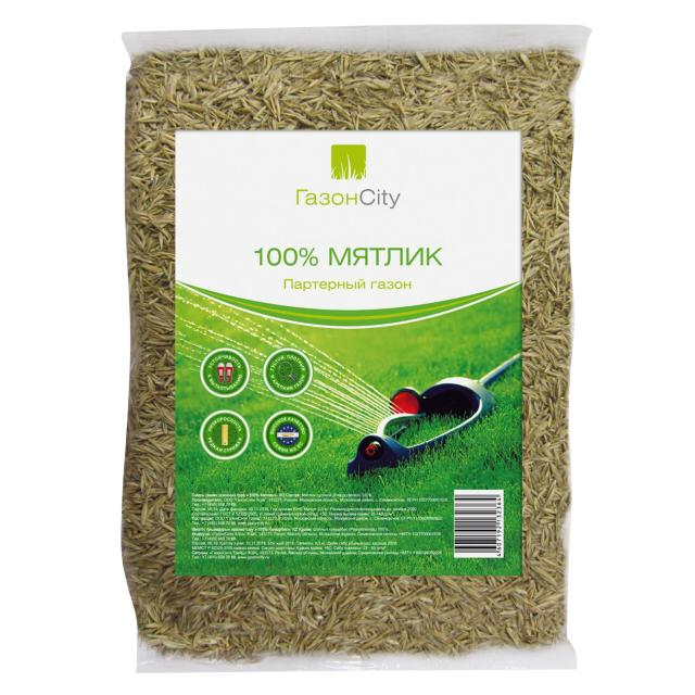 семена газонной травы Мятлик 100% 0,3кг