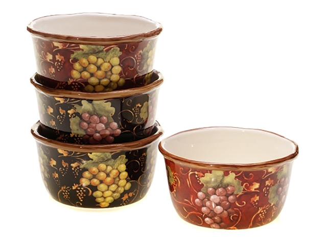 салатник CERTIFIED Вино и виноград 14см 0,8л керамика салатник certified вино и виноград 14см 0 8л керамика