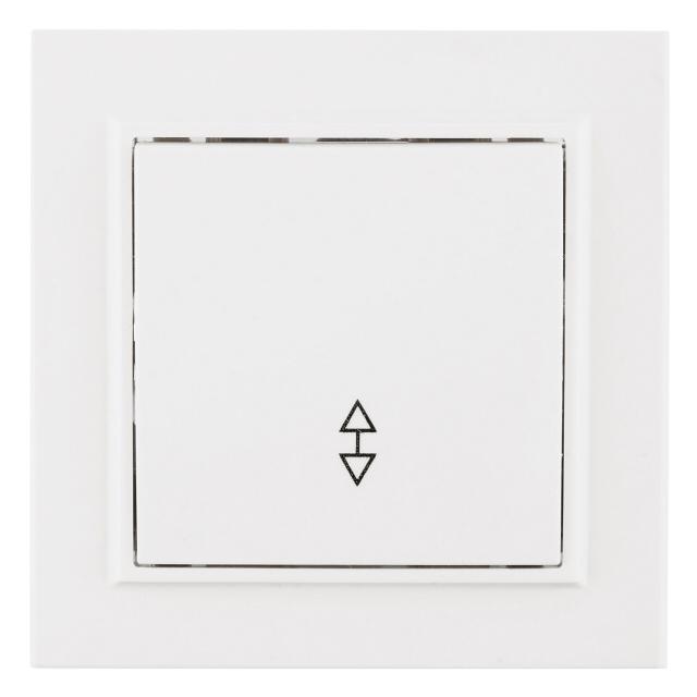 переключатель 1-клавишный EKF Минск 10А белый