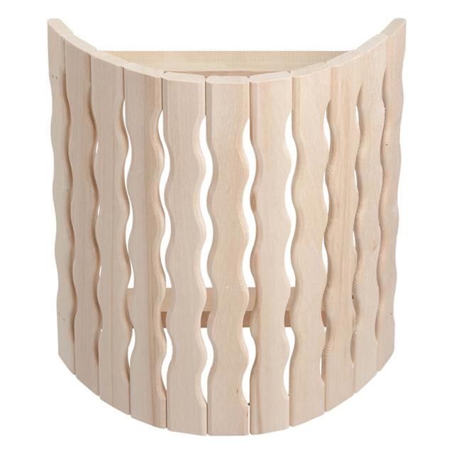 абажур для светильника угловой Волна, 27х10,5х30,5 см, липа абажур д светильника угловой косичка 27х10 5х30 5см липа