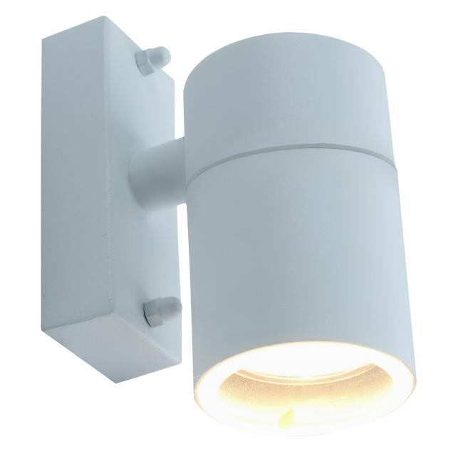 светильник уличный настенный Mistero 1х50Вт GU10 230В алюминий белый