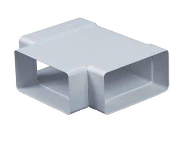 тройник AWENTA 55х110мм пластик белый