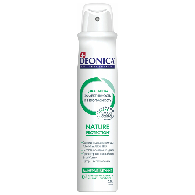дезодорант женский DEONICA Nature Protection, 200 мл, спрей