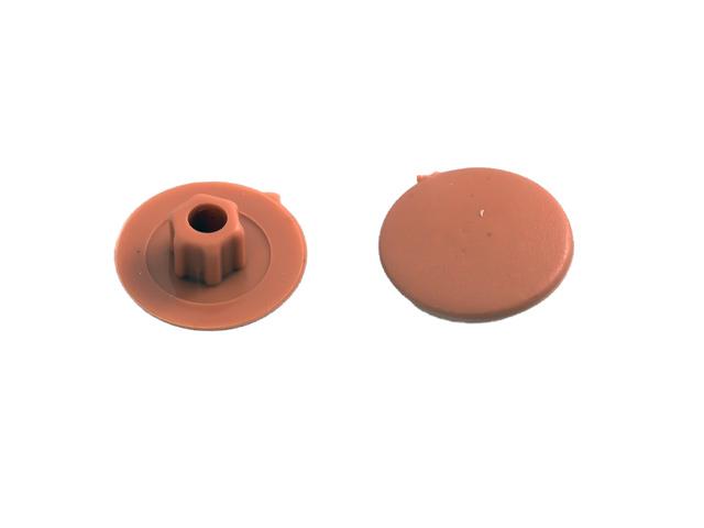 заглушка на шуруп-стяжку 5мм пластик бук 40шт