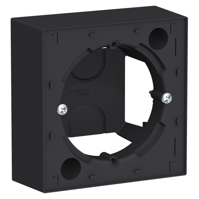 коробка подъемная, 1 пост, Atlas Design, карбон